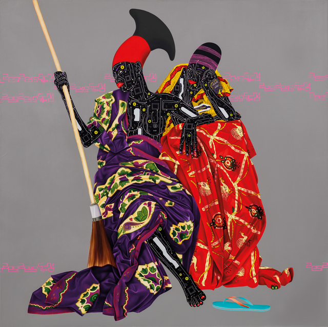 Eddy Kamuanga Ilunga, 'Untitled, ed. 25', 2016, October Gallery