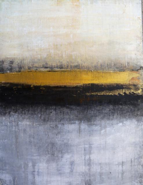 , '1246 abstract gold horizon #2,' 2018, Roger König Art