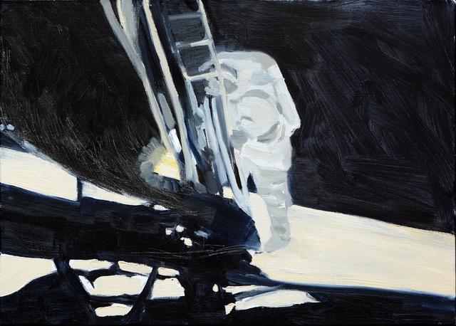 JAVIER AREÁN, 'UN PEQUEÑO PASO ', 2018, Galería Quetzalli