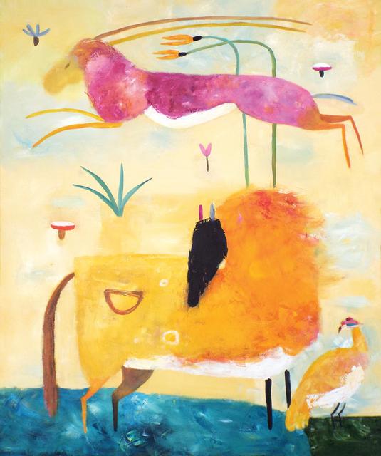 , 'Himalayan Horse and Gazelle,' 2016, Carter Burden Gallery