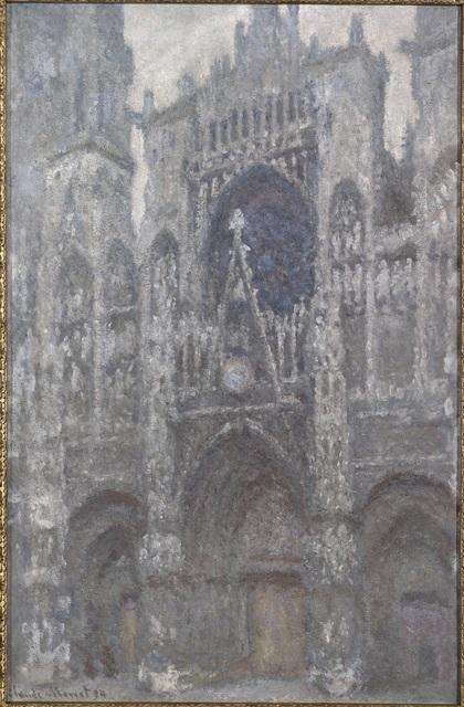 , 'Cathédrale de Rouen. Le porteil et la Tour Saint-Romain, Plein Soleil,' 1893, Art Gallery of Ontario (AGO)