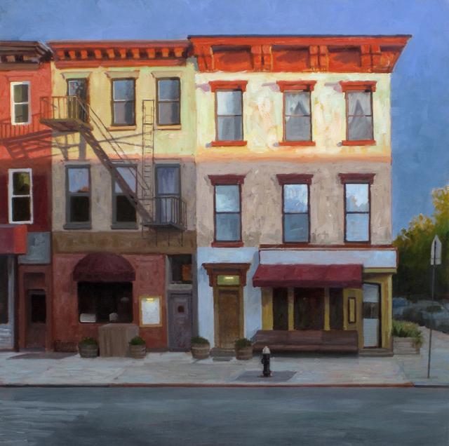 , 'Sunrise in Brooklyn,' , Addison Art Gallery