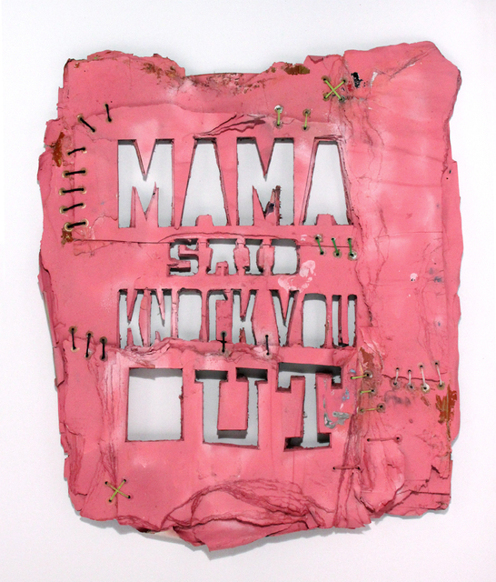 , 'Mama Said Knock You Out,' 2016, Freight + Volume