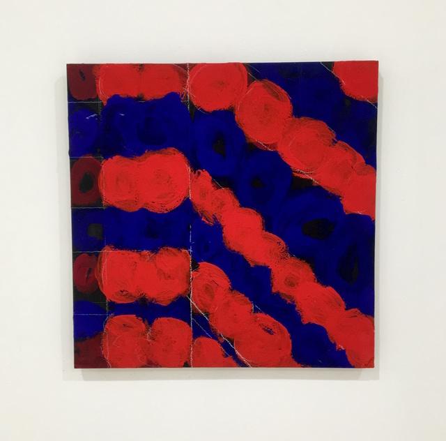 , 'Blue and Red Niagara,' , C O U N T Y