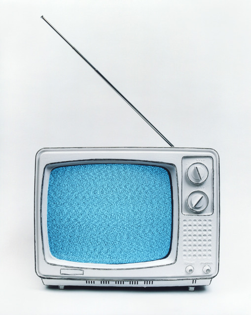 Cynthia Greig, 'Representation #22 (Black&White TV)', 2009, Photography, Borderless chrogenic print, Clark Gallery
