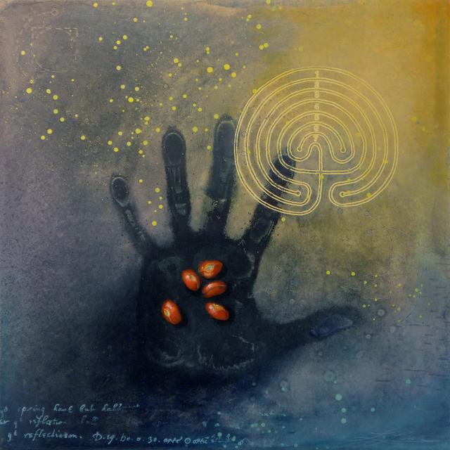 , 'Ex Libris: Labyrinth,' 2015, Abmeyer + Wood Fine Art