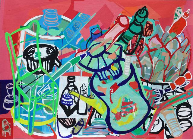 , 'Organic Salad,' 2008, Myrine Vlavianos Arte Contemporânea