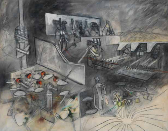 , 'Le Meurtre des Rosenberg,' 1954, New River Fine Art