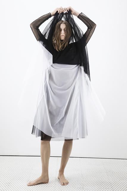 , 'VISIT abscreenwear.shop,' , Postmasters Gallery