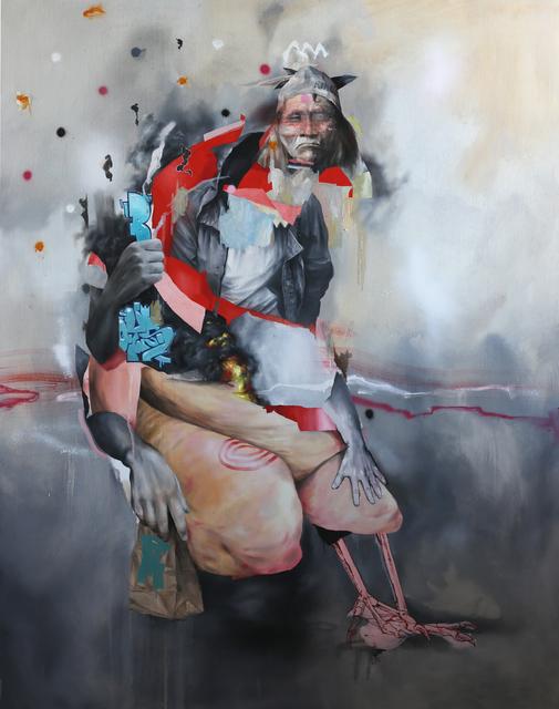 , 'Big Red,' 2015, KIRK Gallery