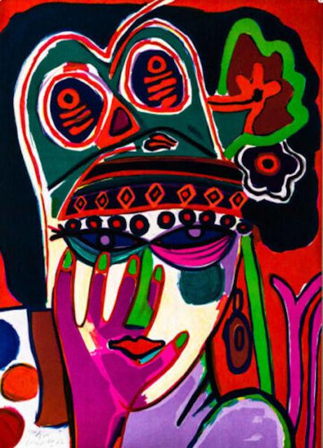 Corneille (Cornelius Guillaume Beverloo), 'Portrait', 1982, Fine Art Acquisitions