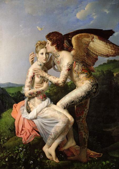, 'Cupido & Psiche,' 2018, Klein Gallery