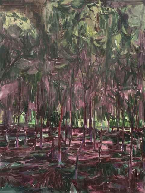 , '林中人C A Figure in the Woods C,' 2017, Matthew Liu Fine Arts