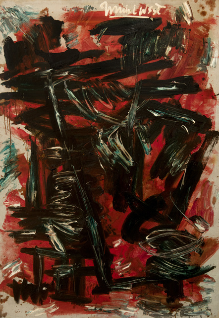 , 'Red August,' 1966, Hollis Taggart
