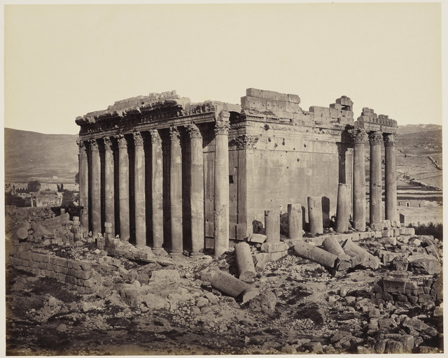 , 'The Temple of Jupiter from the north west [Baalbek, Lebanon],' 3 May 1862, Royal Collection Trust