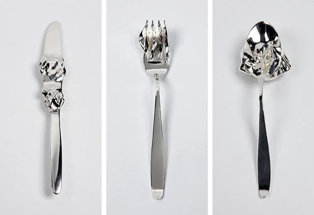 , 'Crossfire Cutlery,' 2010, Sapar Contemporary