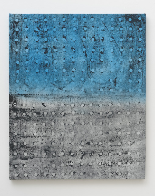 , 'Untitled (Blue Grey Grid_2),' 2014, Roberts & Tilton