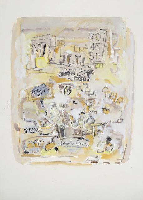, 'Sin título,' 1990, Cecilia de Torres Ltd.