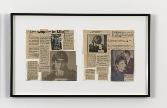 , 'I Have Sympathy for Killer (Pam Flynn and Billy Smart),' 1992, Simon Lee Gallery