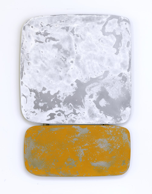 , 'Some kinda white over some kinda yellow,' 2019, Leila Heller Gallery
