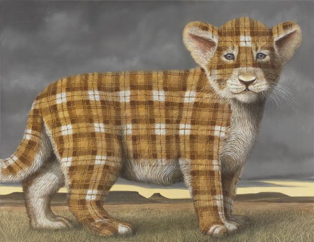, 'lion Cub,' 2015, Nils Stærk
