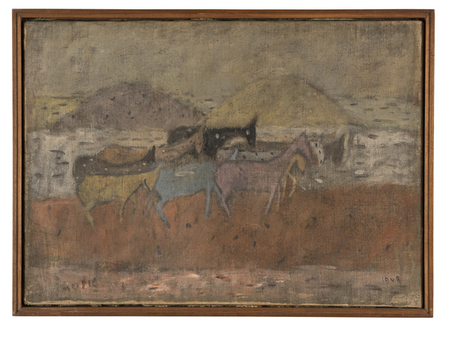 , 'Asinelli,' 1948, Lorenzelli arte
