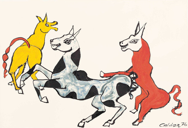 , 'Rire jaune,' 1976, Rosenbaum Contemporary