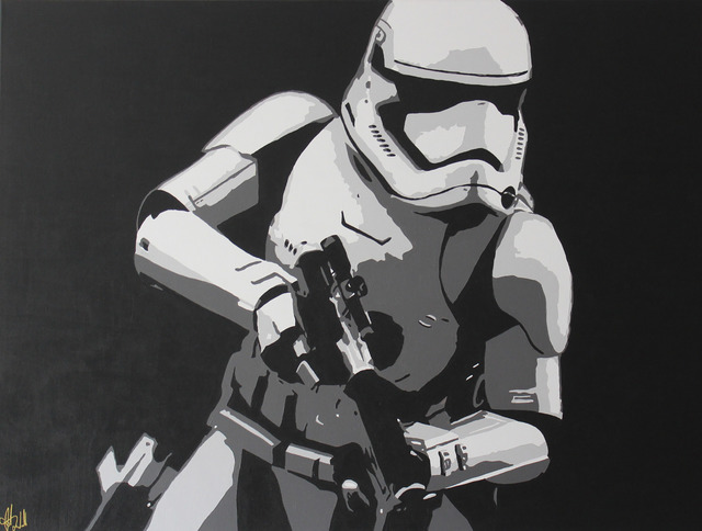 , 'Storm Trooper #1,' 2017, Wallspace