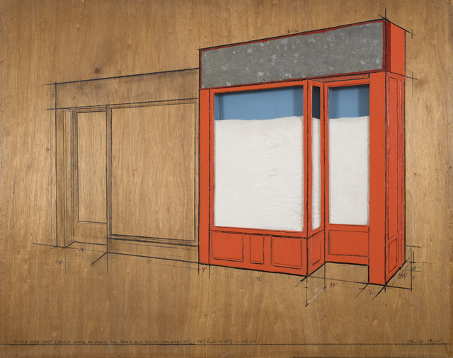 , 'Store Front, Project,' 1965-1966, CFHILL