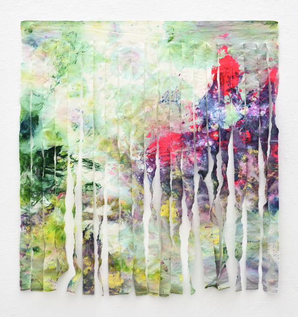 , 'Estna Editions. Paintings as scarfs. No. 1,' 2017, Temnikova & Kasela