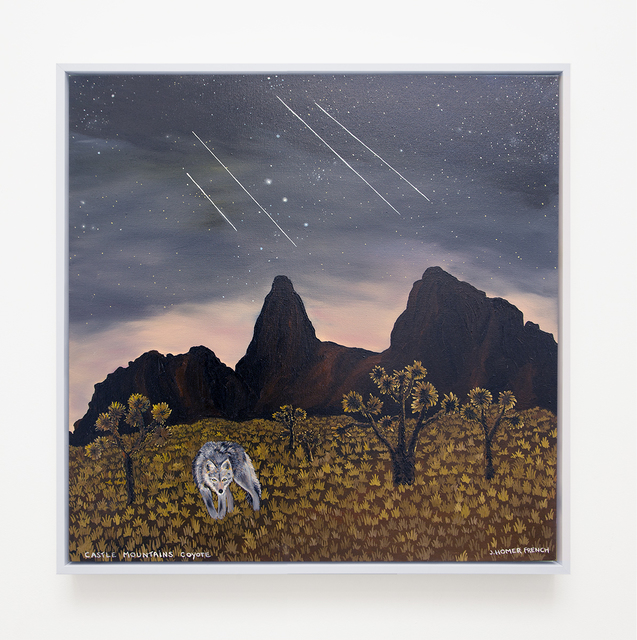 , 'Castle Mountains Coyote,' 2017, VARIOUS SMALL FIRES