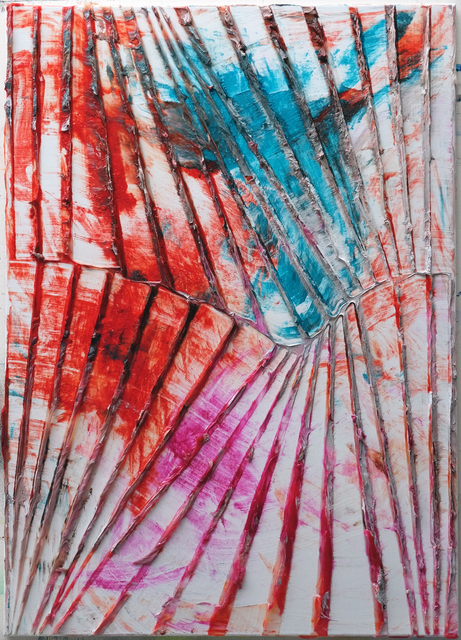 , 'Untitled (limerence sea red/blue),' 2018, VAN HORN