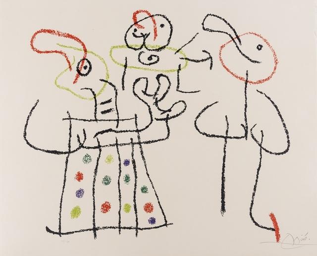 Joan Miró, 'Ubu Aux Baléares (See. Cramer Books 146)', 1971, Forum Auctions