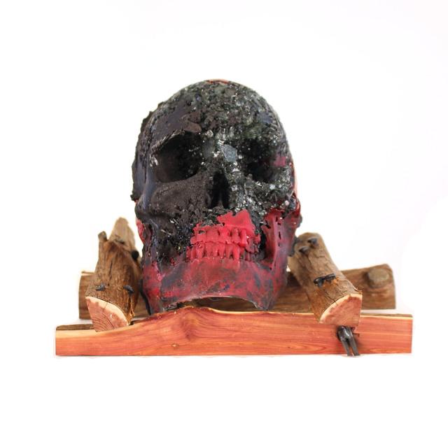 , 'Skull V,' , form & concept