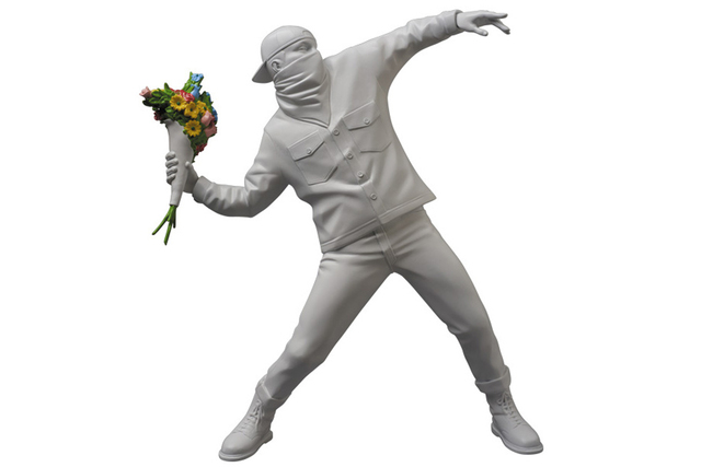 Banksy, 'Flower Bomber (by Brandalism)', ca. 2017, EHC Fine Art Gallery Auction