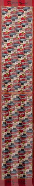 Andy Warhol, 'CAMPBELL'S TOMATO SOUP', Print, Color print on fabric, Doyle