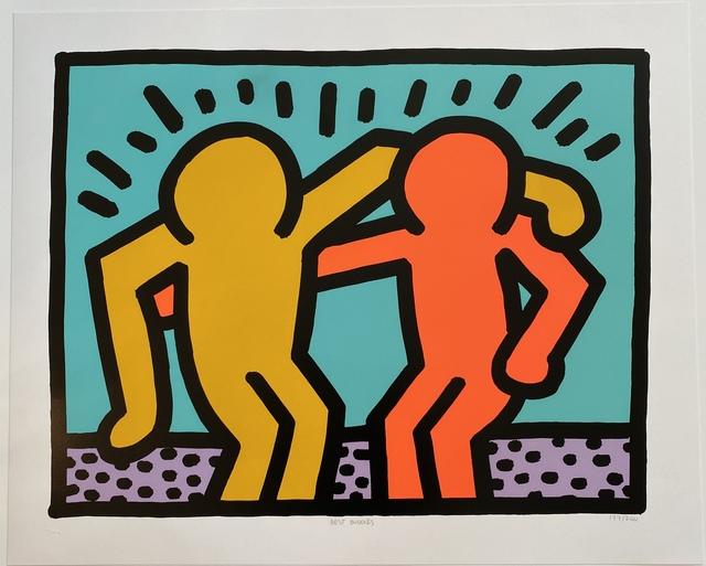 Keith Haring, 'Best Buddies', 1990, Fine Art Mia