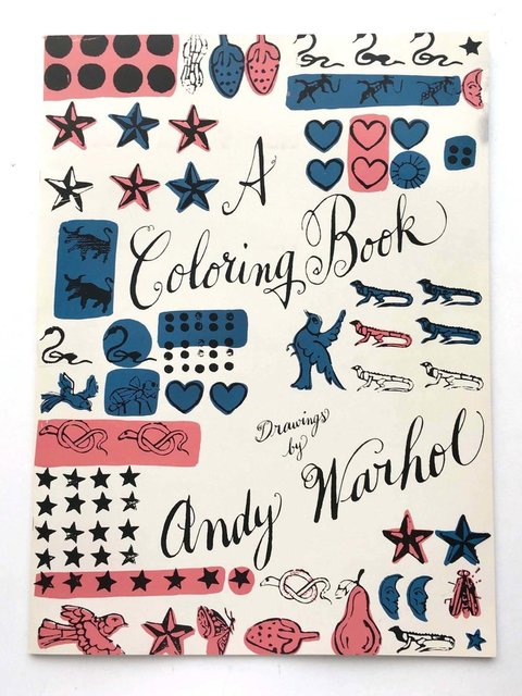Andy Warhol, 'Andy Warhol Coloring Book (out-of-print)', 1990, Gallery 52