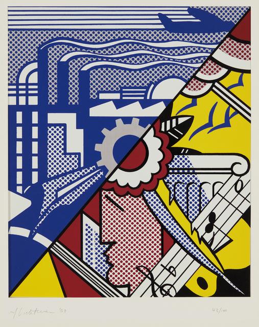 Roy Lichtenstein, 'Industry and the Arts (I)', 1969, Phillips
