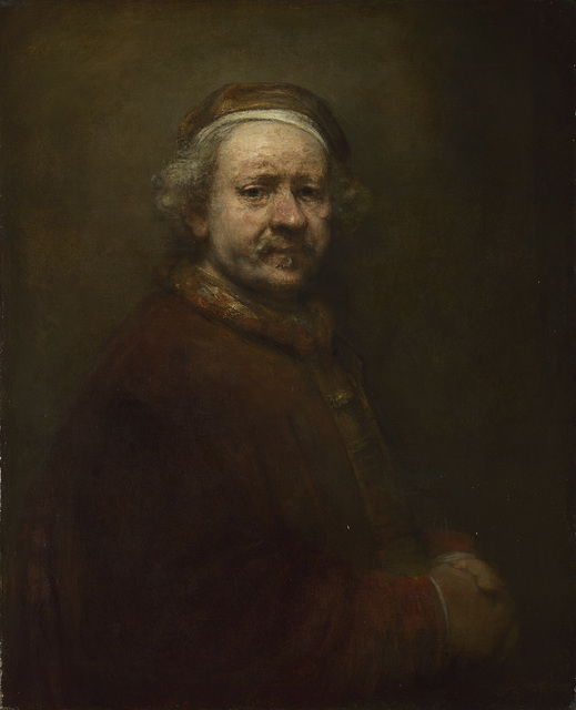 , 'Self Portrait at the Age of 63,' 1669, The National Gallery, London