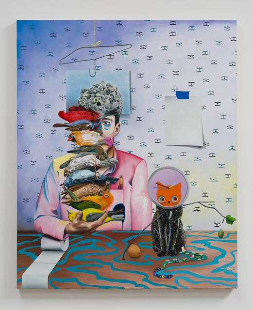 , 'in the absence of bad news we were like bats,' 2018, John Wolf Art Advisory & Brokerage