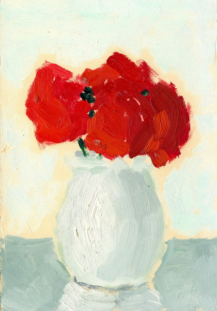 , 'Red Flower,' 1974, Boers-Li Gallery
