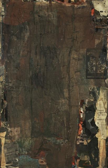 , 'Recollection III,' 1962, Anne Mosseri-Marlio Galerie