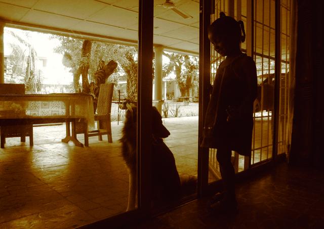 Moridja Kitenge, 'La maison des pauvres 8', ca. 2010, The Print Atelier