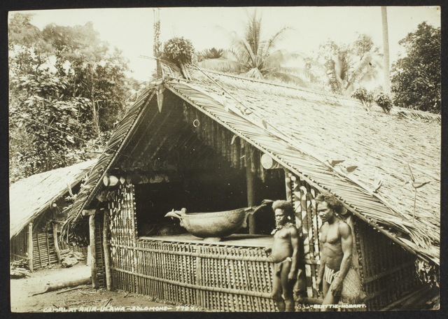 , ' Gamal at Ahia - Ulawa - Solomons,' , Musée du quai Branly