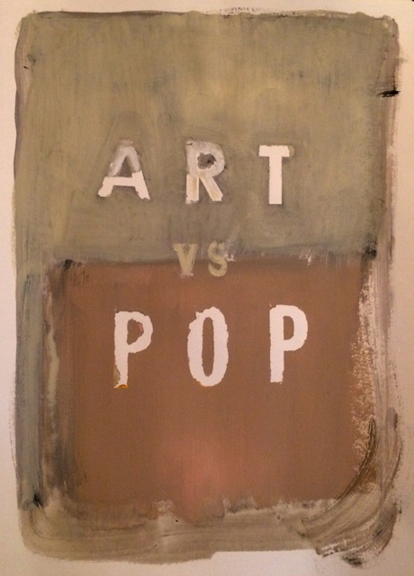 , 'Art vs Pop,' 2017, 532 Gallery Thomas Jaeckel