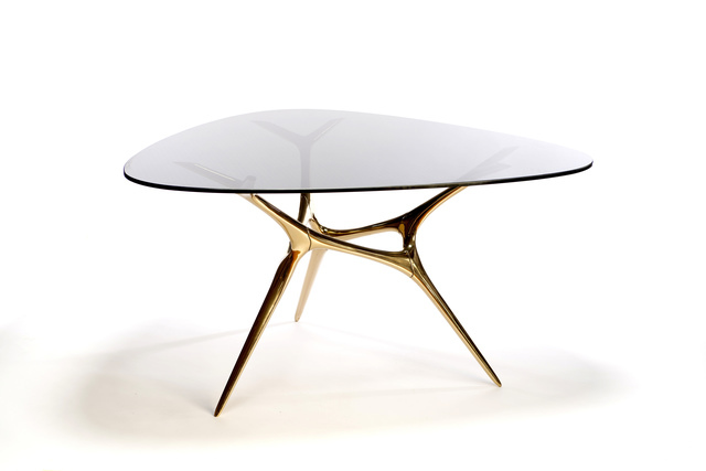 , 'Bronze E-Volved Table,' 2016, Wexler Gallery
