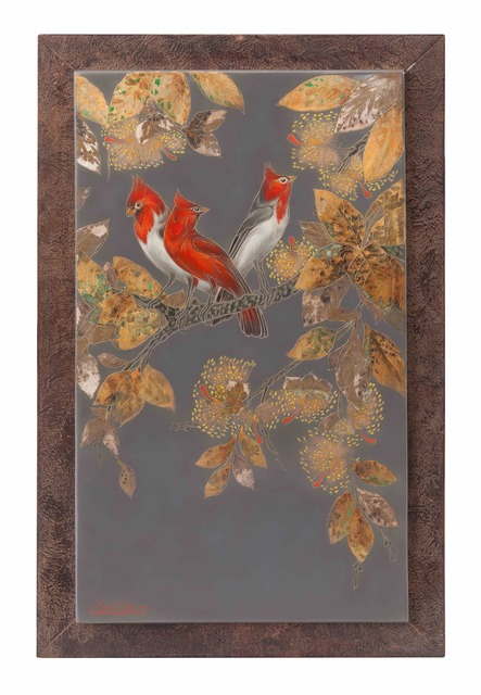 , 'Red-crested Cardinal,' , Galerie Dumonteil