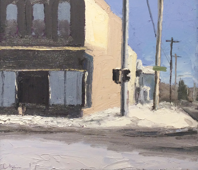 Matt Chinian, 'Main & Wall Street, Hudson Falls, NY', 2017, Carrie Haddad Gallery