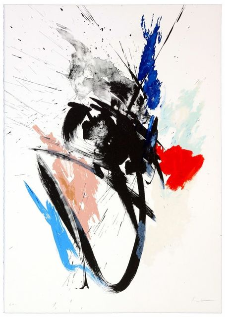 Jean Miotte, 'Composition III', 1990, Print, Original lithograph on Rives paper, Samhart Gallery